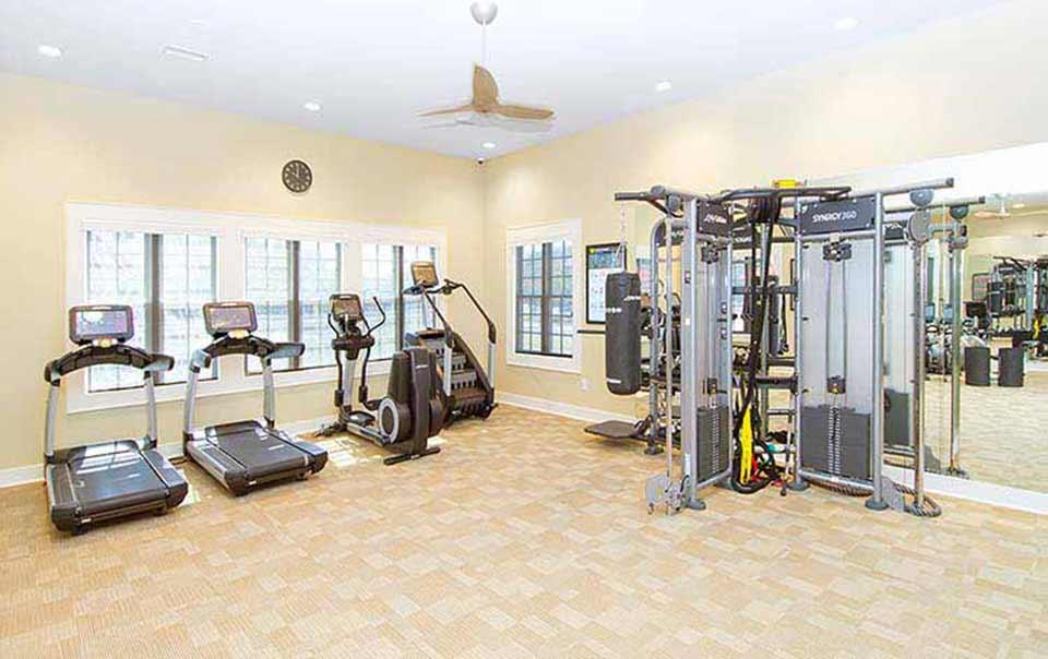 greystone properties gulf breeze reserve apartments weight machine